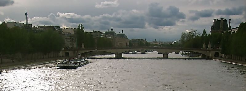 View of the river Seine