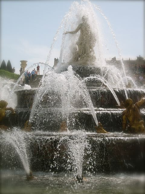 One of the fountains
