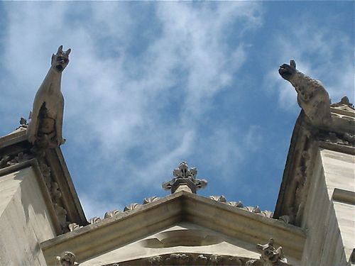 Gargoyles on Sainte Chapelle