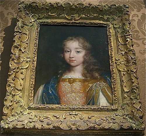 Louis XIV as a young boy