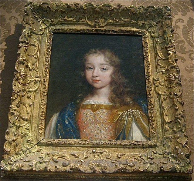 Louis XIV as a young boy