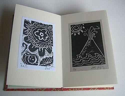 Printbook inside spread