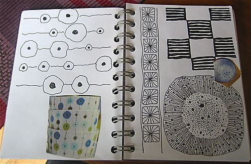 Pattern journal dot&line