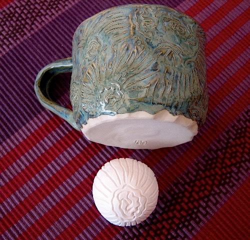 Patternstamp&mug