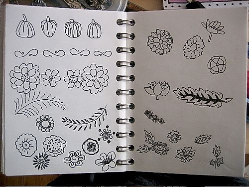 Patternjournlflowers