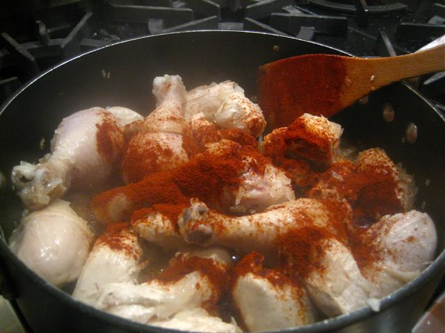 Sprinkle paprika