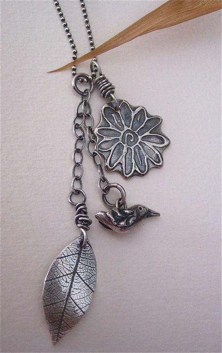 Naturecharmnecklace