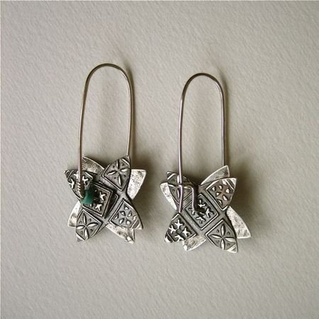 Celie spinner earrings