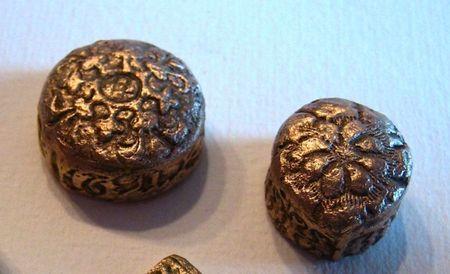 Bronze clay pieces1