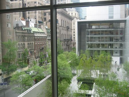 View from MOMA NYC