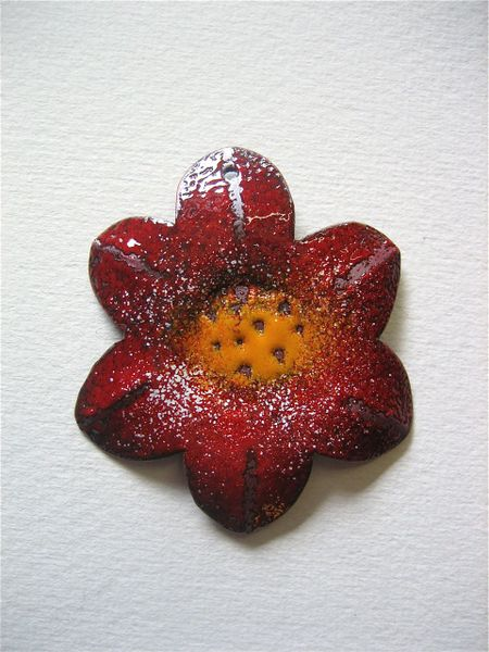 Redflowerpendant