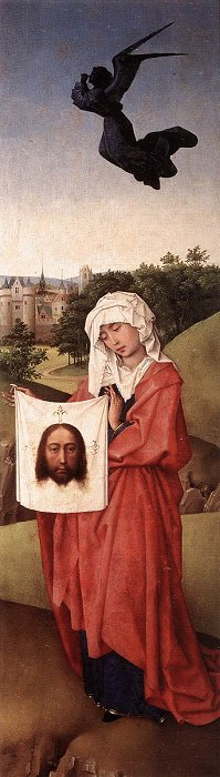 The CrucifixionTriptych St. Veronicarightpanel1445