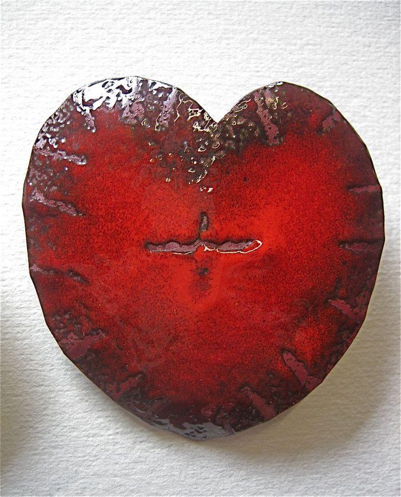 Redheartpin