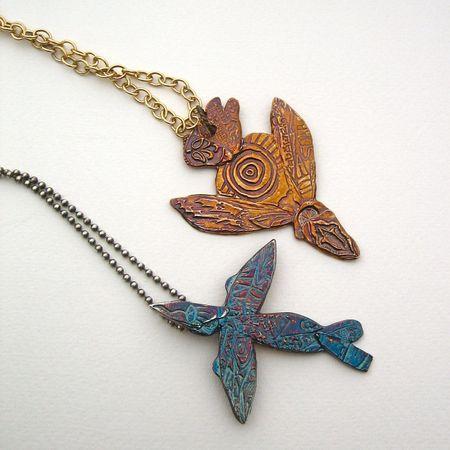 Petroglyph birds
