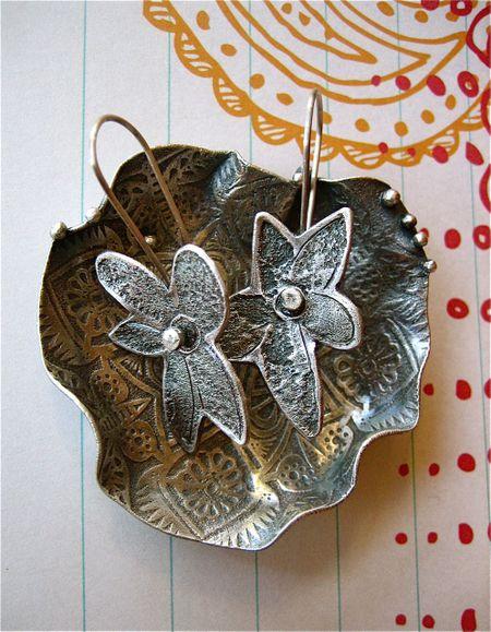 Bowl&earrings