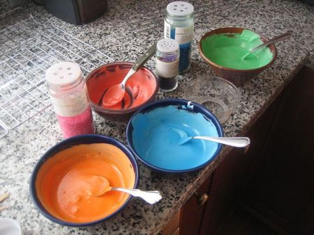 Icing colors