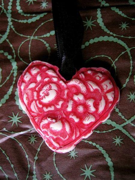 Polymer heart