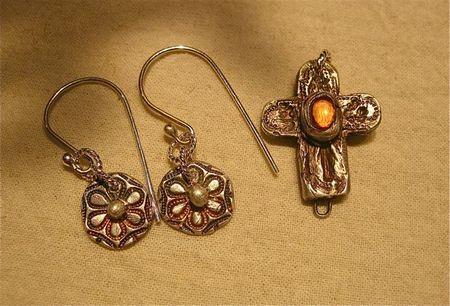 Student earrings