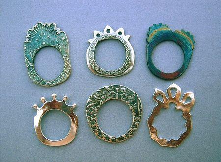 Patina rings