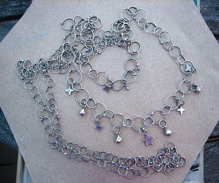 Arg chain necklaces