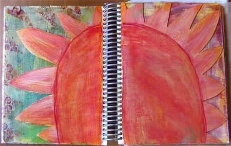 Acrylic journalsun