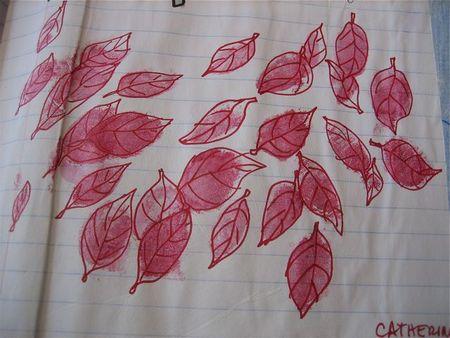 Fingerprint leaves