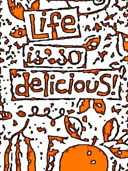 Orange delicious
