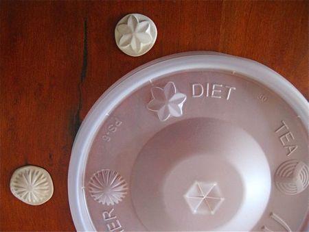 Soda cup lid