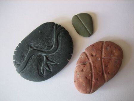 My carved rocks