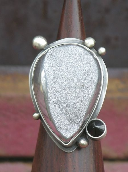 Silver Dust Ring