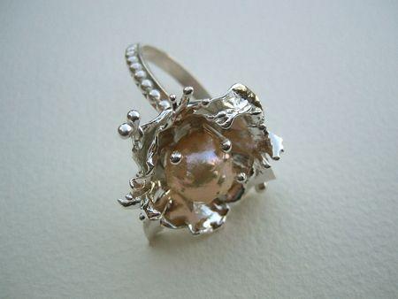 Druzy pearl