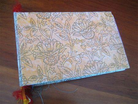 Journal I made at Maria's studio