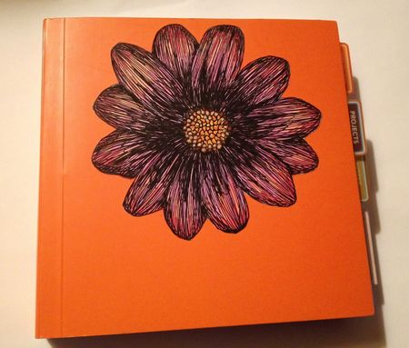 Orange journal 12inch