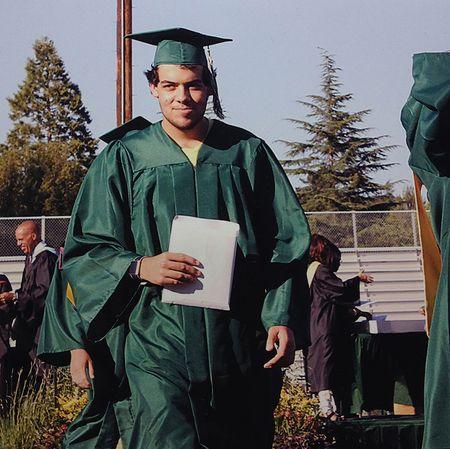 He graduated! 12x11