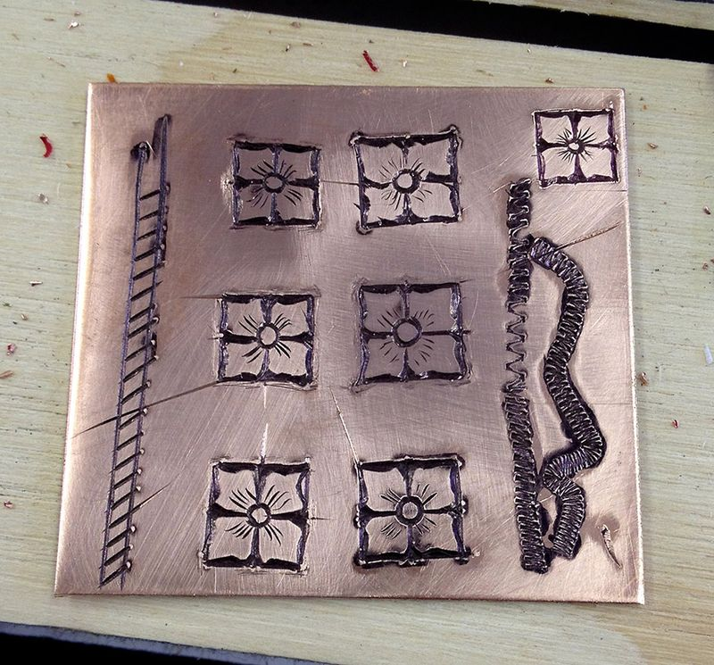 My second engraving 10x11