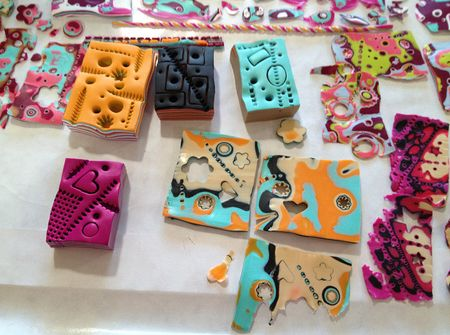 Polymer blocks & slices
