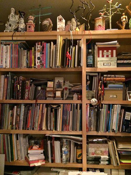 Books, books, books, books 16x21