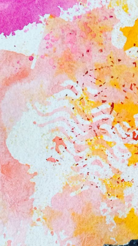 Ink 6 pink postage 8.8x15.7