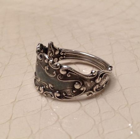Sterling spoon ring 14x13.9-541kb