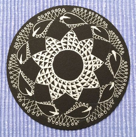 Zentangle pattern on black 15x15-680kb