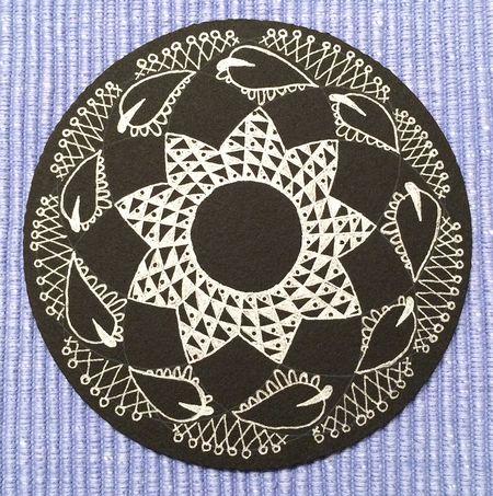 Zentangle pattern on black 15x15-680kb