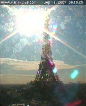 Eiffelwebcamlightsplash