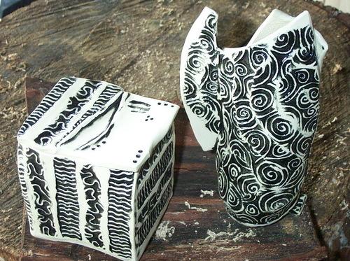 Box & vase